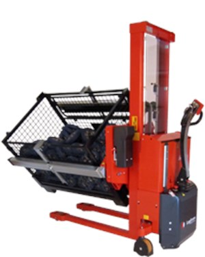 Material Handling Rotator, Rotator with non-adjustable box holders