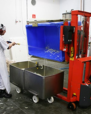 Samples Custom-built products, Rotator for food industry