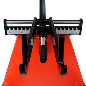 Reel Lifter - locking system forks