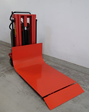 Samples Custom-built products, Electric Logiflex with special platform